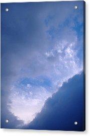 Swirl Of Morning Clouds Acrylic Print
