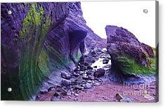 Acrylic Print featuring the photograph Swirl Rocks by John Williams