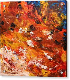 Acrylic Print featuring the painting Swirling And Dancing by John Williams