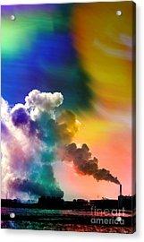 Swirling Acrylic Print by R Kyllo