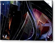 Swirling Shingles Acrylic Print