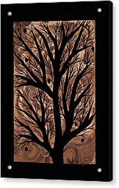 Swirling Sugar Maple Acrylic Print by Barbara St Jean