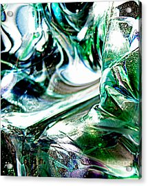 Swirls Of Color And Light II Acrylic Print by Kitrina Arbuckle