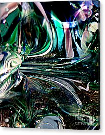 Swirls Of Color And Light Acrylic Print by Kitrina Arbuckle