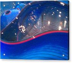 Swirls Acrylic Print by Rosemarie Hakim