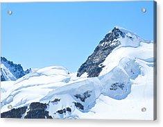 Swiss Alps Acrylic Print by Joe  Ng