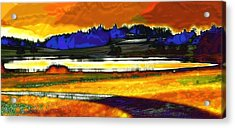 Swiss Countryside - Around The Luetzelsee Acrylic Print