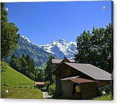 Swiss Hike Acrylic Print