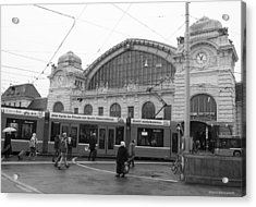 Swiss Railway Station Acrylic Print