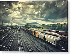 Switchyard Junction Near Lookout Mountain Acrylic Print