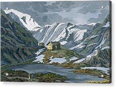 Switzerland Hospice Of St. Bernard Acrylic Print