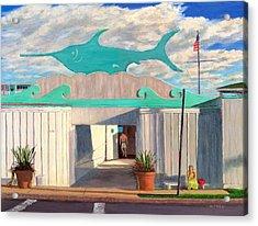 Swordfish Beach Club Acrylic Print