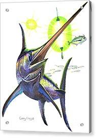 Swordfishing Acrylic Print