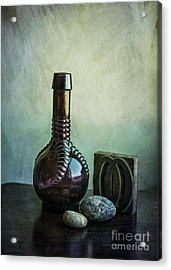 Sybil's Bottle Acrylic Print by Terry Rowe