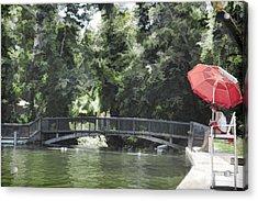 Sycamore Pool Acrylic Print