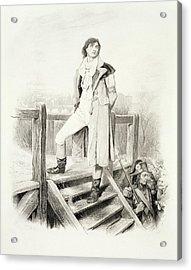 Sydney Carton, From Charles Dickens A Acrylic Print
