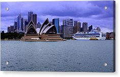 Sydney Acrylic Print by DerekTXFactor Creative