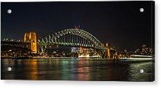 Sydney Harbour Bridge 2 Acrylic Print by Dasmin Niriella