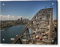Sydney Harbour Bridge Acrylic Print by Jola Martysz