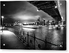 Sydney Harbour Ferries Acrylic Print