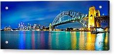 Sydney Icons Acrylic Print