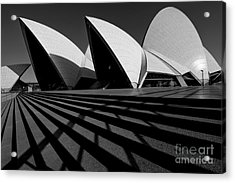 Acrylic Print featuring the photograph Sydney Opera House 02 by Yew Kwang