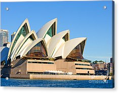 Sydney Opera House And Sydney Harbour Acrylic Print