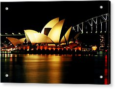 Acrylic Print featuring the photograph Sydney Opera House by John King