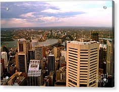 Sydney Skyline Acrylic Print by John Potts