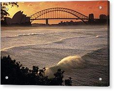 Sydney Surf Time Acrylic Print