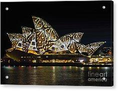 Sydney Vivid 20 Acrylic Print