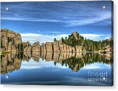 Sylvan Lake Reflections Acrylic Print