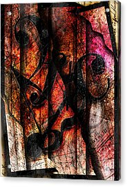 Symblz Acrylic Print by Gary Bodnar