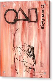 Symbols Of Zen Acrylic Print by Roberto Prusso