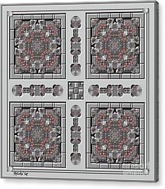 Symmetrica 313 Acrylic Print by Nedunseralathan R