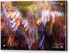 Symphonic Light Abstraction  Acrylic Print by Chris Anderson