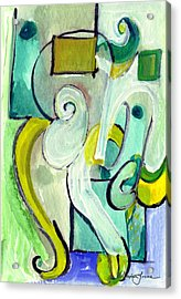 Symphony In Green Acrylic Print