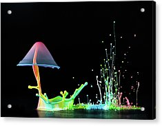 Symphony Of Colors Acrylic Print by Suwandi Lim
