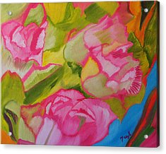 Symphony Of Roses Acrylic Print
