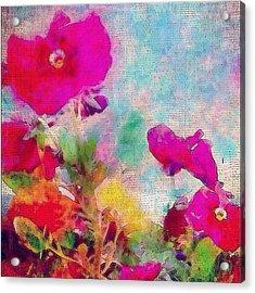 synchronicity... #digitalart With Acrylic Print