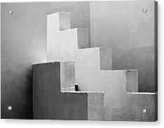 Synchronized Geometry Acrylic Print