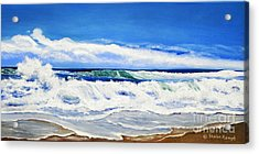 Acrylic Print featuring the painting Synchronized Sensations by Shelia Kempf