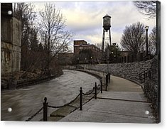 Syracuse Creekwalk Acrylic Print