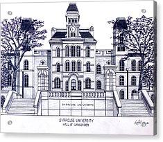 Syracuse University Acrylic Print