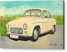 Syrena 105 - Polish Car Acrylic Print