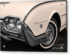 T-bird Fender Acrylic Print by Jerry Fornarotto
