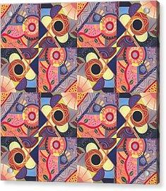 T J O D Tile Variations 18 Acrylic Print
