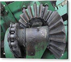 T14 John Deere Baler Gear Acrylic Print
