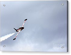 T33 Shooting Star Acrylic Print by Ules Barnwell