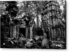 Acrylic Print featuring the photograph Ta Prohm by Julian Cook